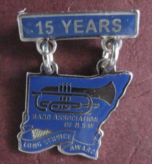 15 Year Badge