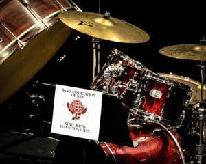 drum kit banner