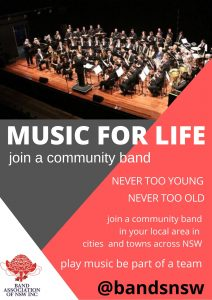join a community band