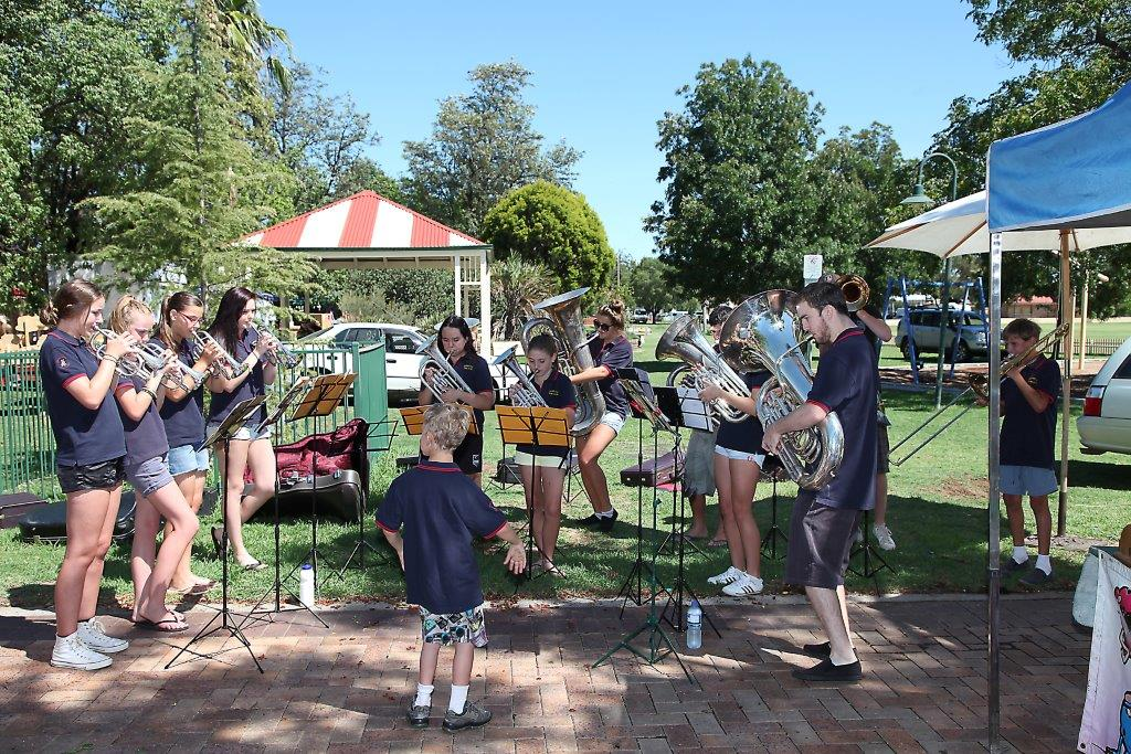 GSB Juniors playing at gunnedahj Markets Medium